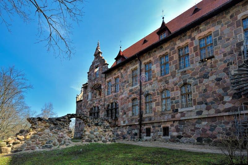 Cesvaine Palace stock photography