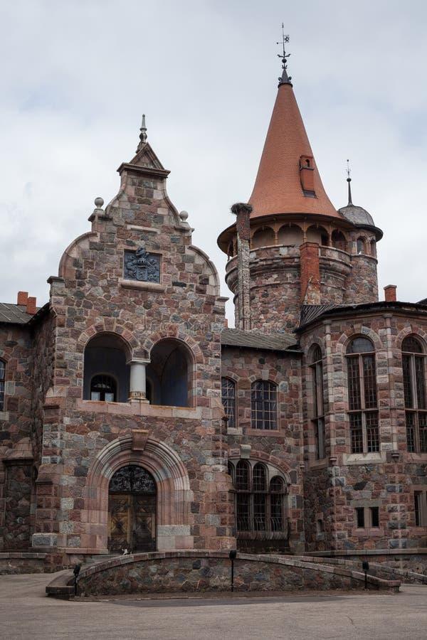 Cesvaine slott royaltyfri bild