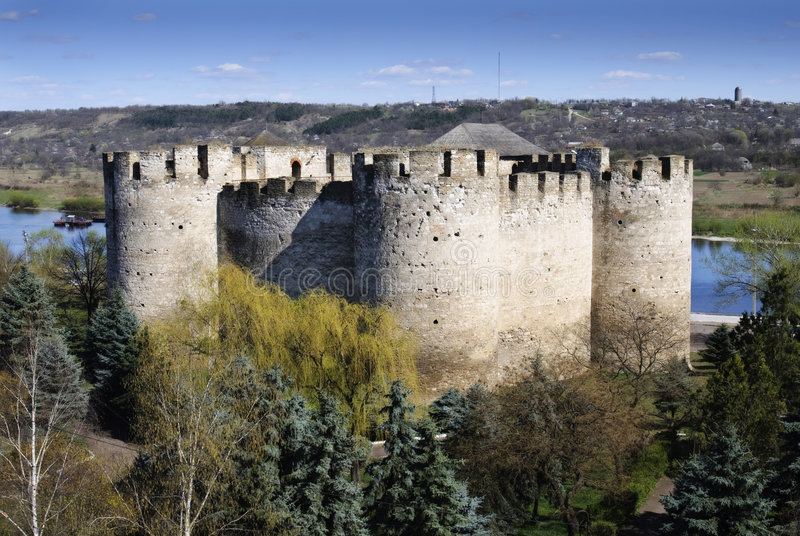 cetatea fortecy soroca obraz stock