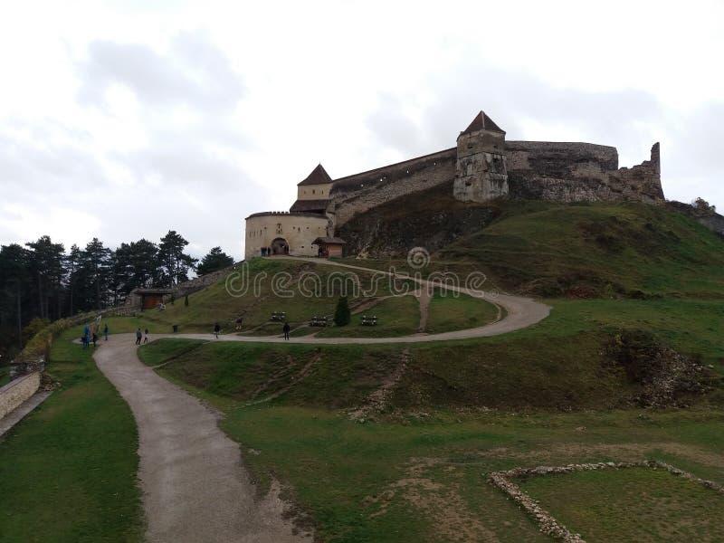 Cetatea Medievala Rasnov royaltyfria bilder