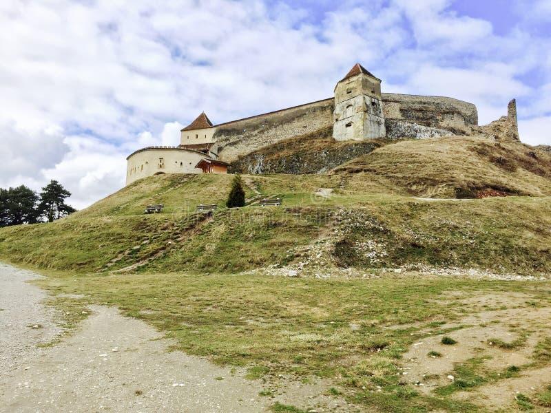 Cetatea Rasnov στοκ φωτογραφίες με δικαίωμα ελεύθερης χρήσης