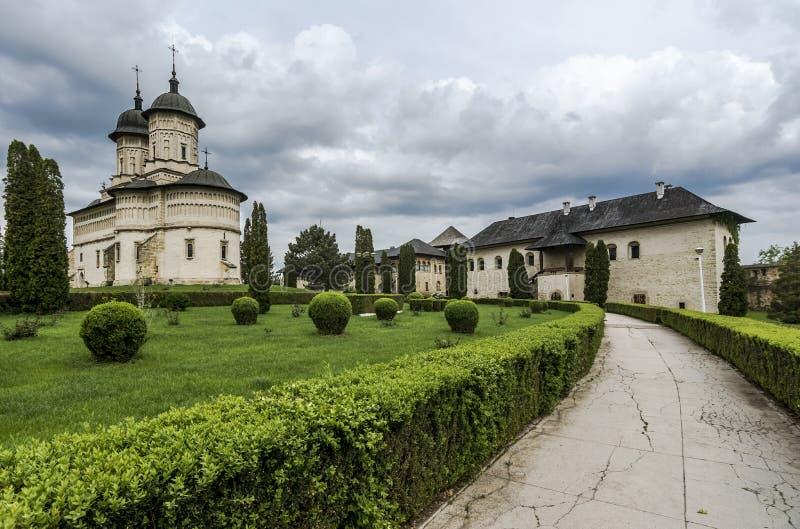 Cetatuia修道院在Iasi,罗马尼亚 库存图片