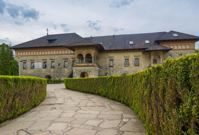 Cetatuia修道院在Iasi,罗马尼亚 免版税库存照片