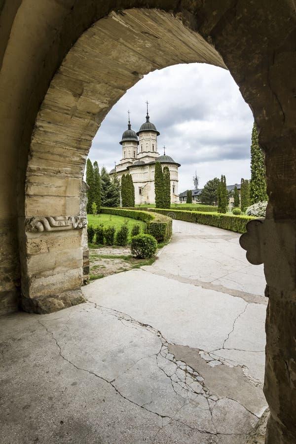 Cetatuia修道院在Iasi,罗马尼亚 图库摄影