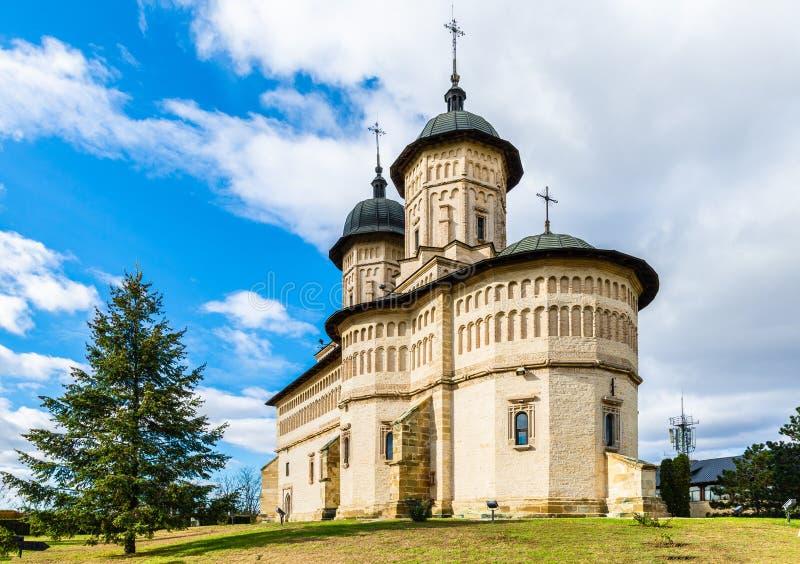 Cetatuia ortodox修道院 免版税库存照片