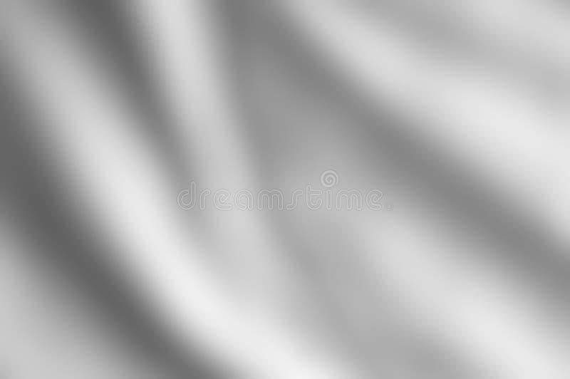 Cetim cinzento prateado fundo drapejado imagem de stock