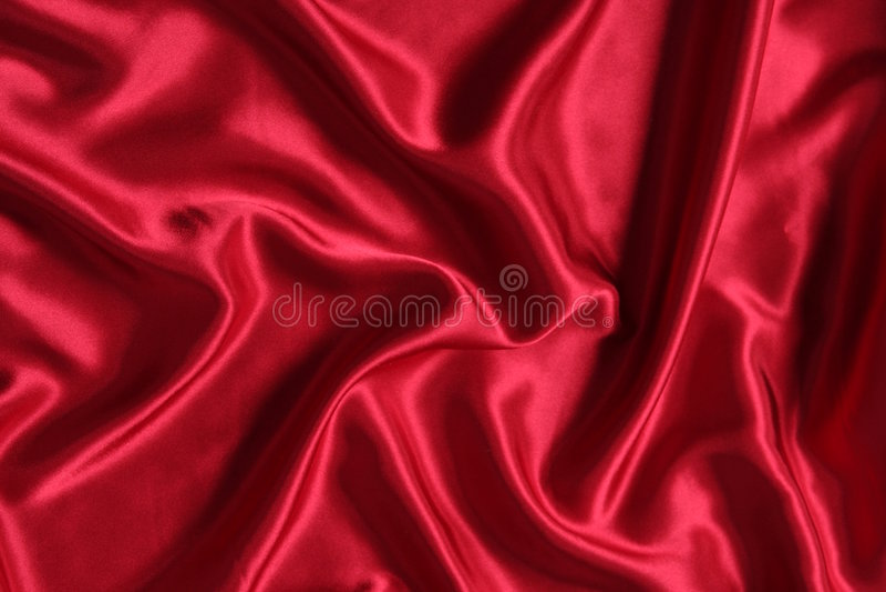 Cetim vermelho fotos de stock