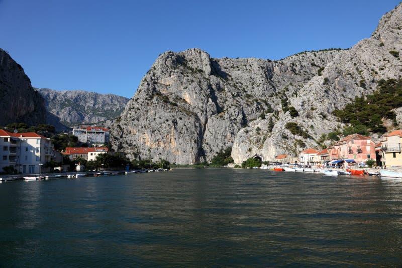 cetina克罗地亚河 库存照片