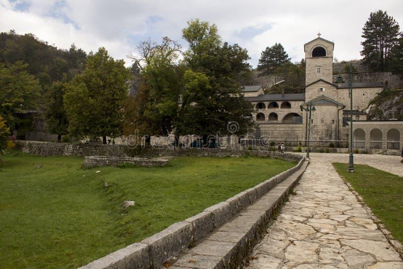 Cetinje kloster royaltyfria bilder