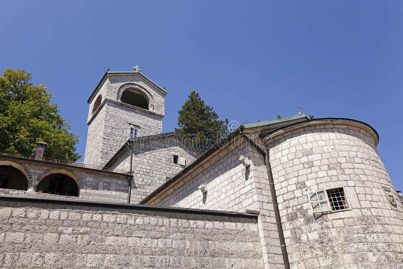 Cetinje kloster Montenegro arkivbilder