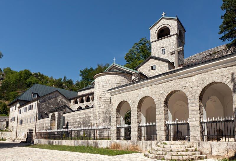 cetinjekloster montenegro arkivfoto