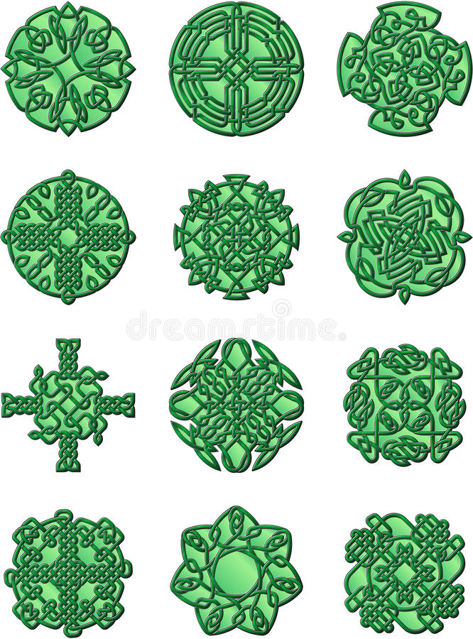 Download Cetlic Style Ornaments Stock Photography - Image: 28625712