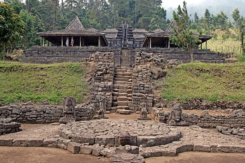 Cetoh Indonesia de Candi imagen de archivo