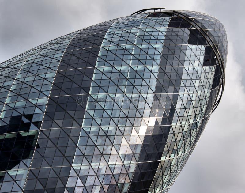 Cetriolino a Londra fotografia stock libera da diritti