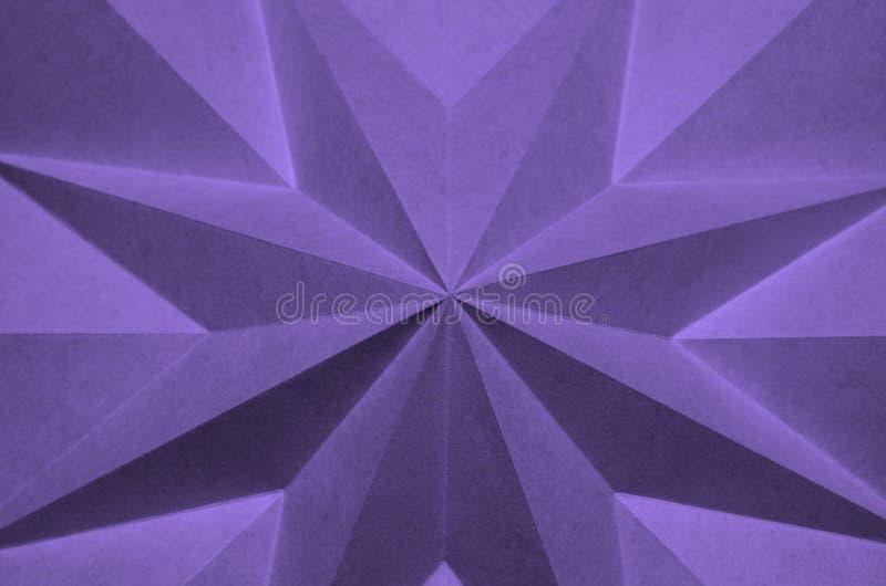 Cette image est une fin en hausse de papier pli? image libre de droits