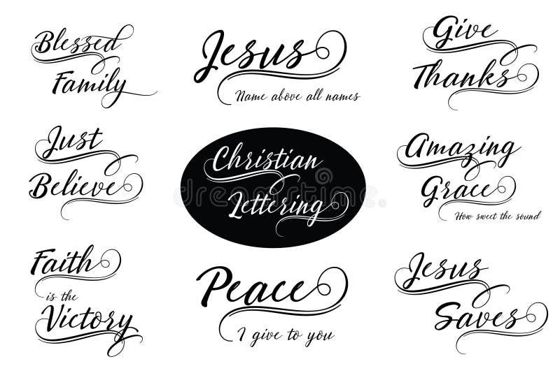 Ceux qui favorisent la paix ont la joie illustration stock