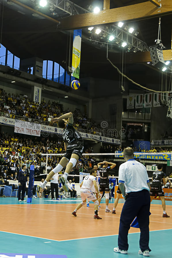 CEV Volley Champions League 2010/2011 Final Four stock image