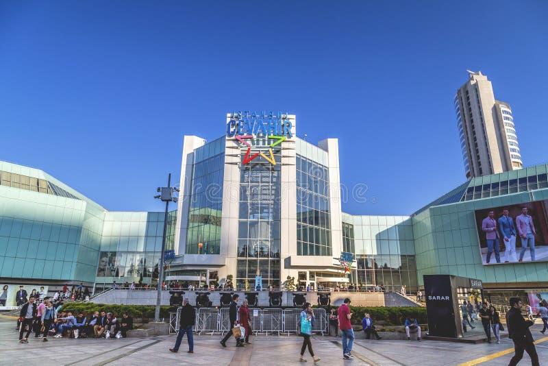 Cevahir购物中心,伊斯坦布尔 免版税库存照片