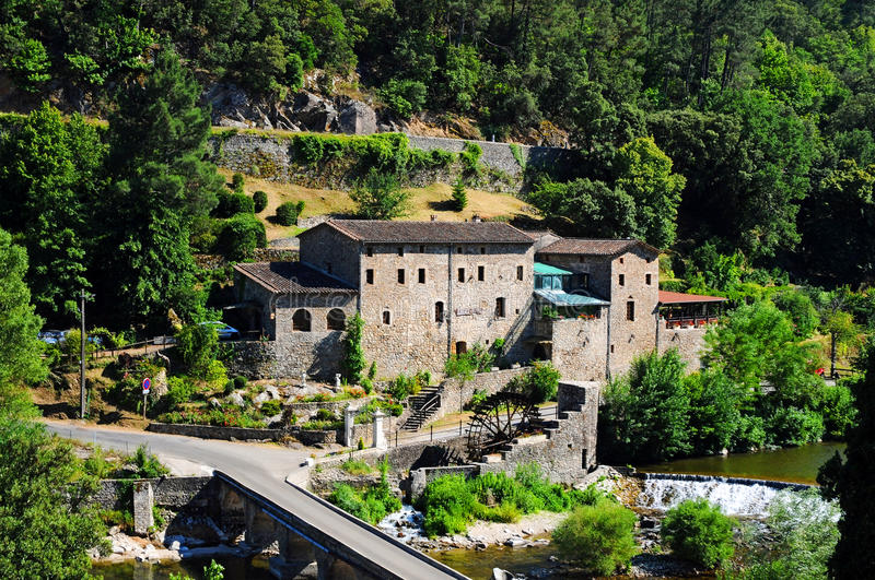 Download Cevennes stock image. Image of mill, hills, cevennes - 35037351