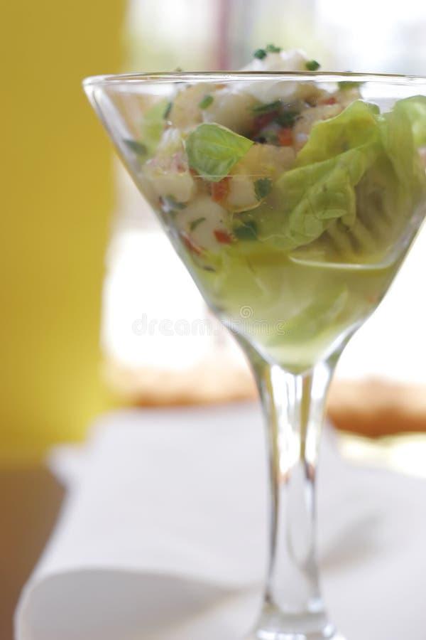 ceviche海鲜 库存照片