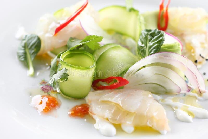 Ceviche-Salat lizenzfreies stockbild