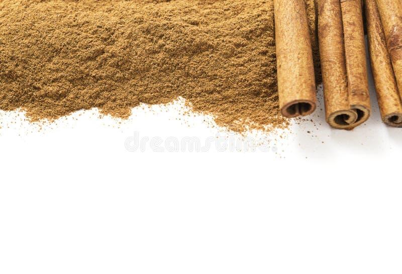 Ceylon Cinnamon stock photos