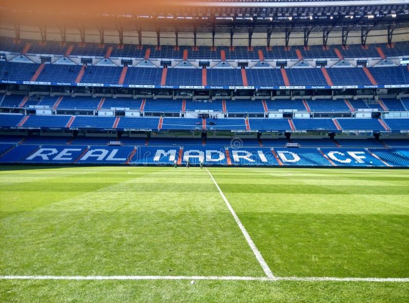 Cf di Real Madrid fotografia stock libera da diritti
