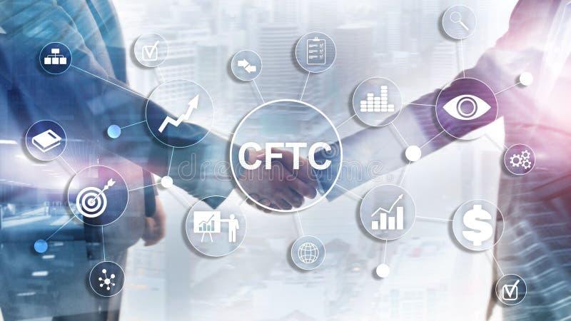 CFTC u S conceito regulamentar da finan?a do neg?cio de comiss?o da troca de futuros da mercadoria imagens de stock royalty free