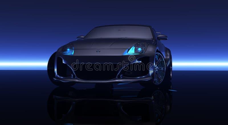 CG-Auto lizenzfreie stockbilder
