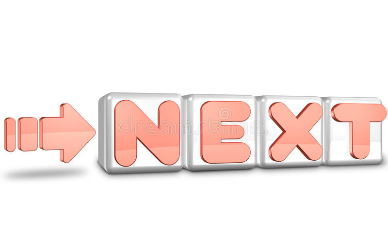 Download CG ICONS Representing The NEXT Stock Illustration - Image: 19548643