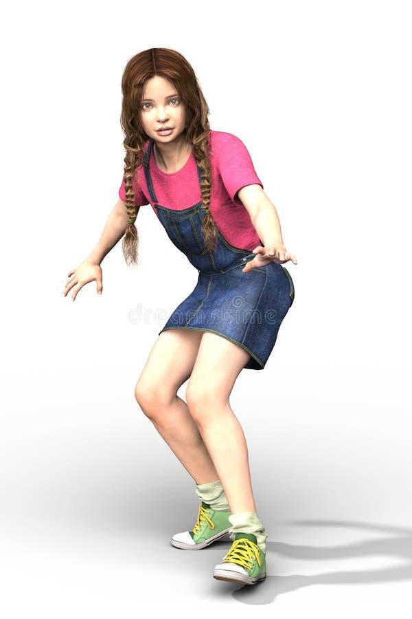 CGI dziecko lub ilustracji