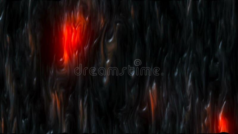 CGI grafika z lawowym skutkiem ilustracji