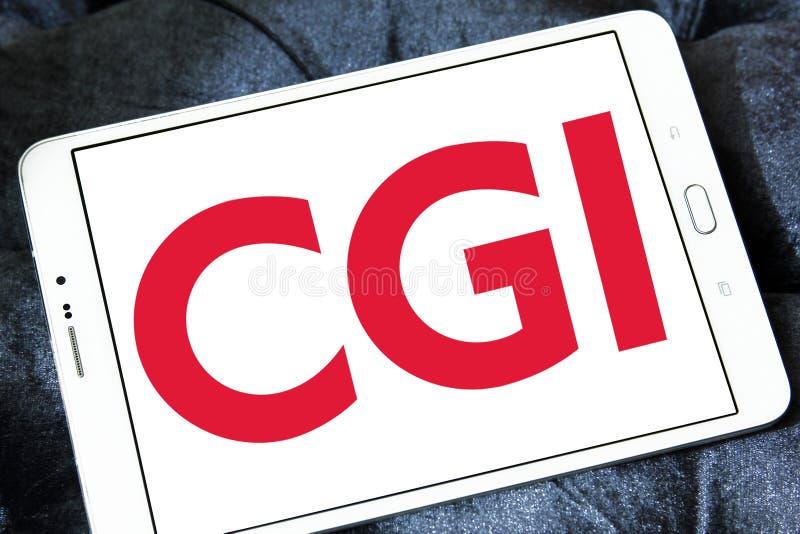CGI-Groepsembleem stock afbeelding