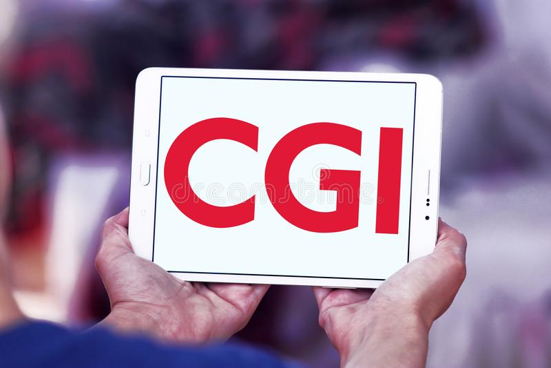 CGI-Groepsembleem stock fotografie