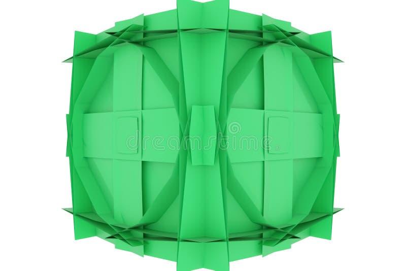 CGI, przypadkowy geometryczny, t?o dla projekt tekstury, t?o 3 d czyni? ilustracja wektor