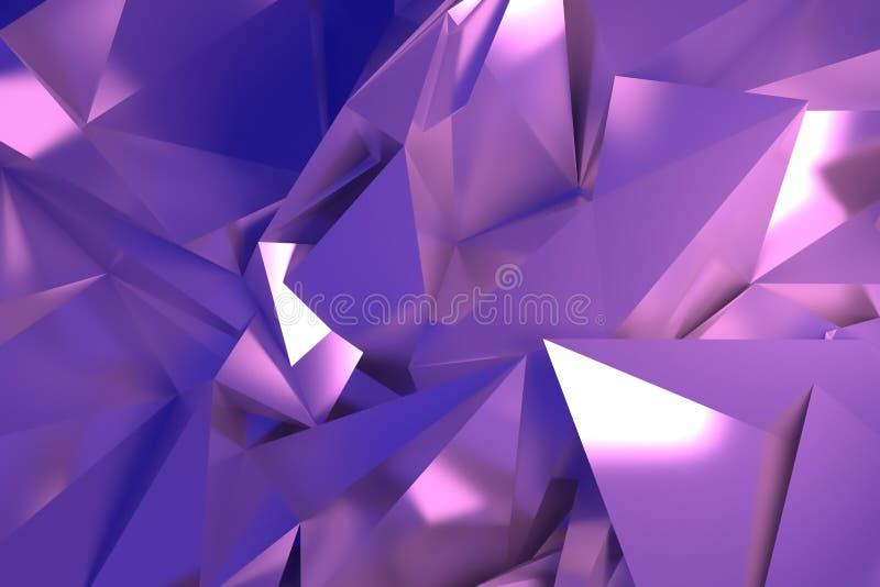 CGI, przypadkowy geometryczny, t?o dla projekt tekstury, t?o 3 d czyni? ilustracji