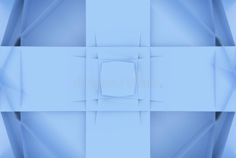 CGI, random geometric, backdrop for design texture, background. 3D render. vector illustration