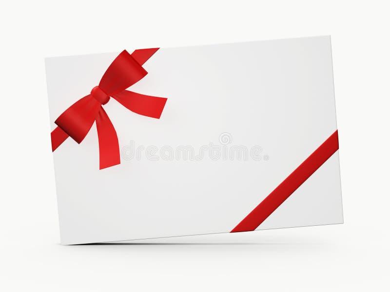 Très Chèque-cadeau blanc illustration stock. Image du cadre - 31773867 VE35
