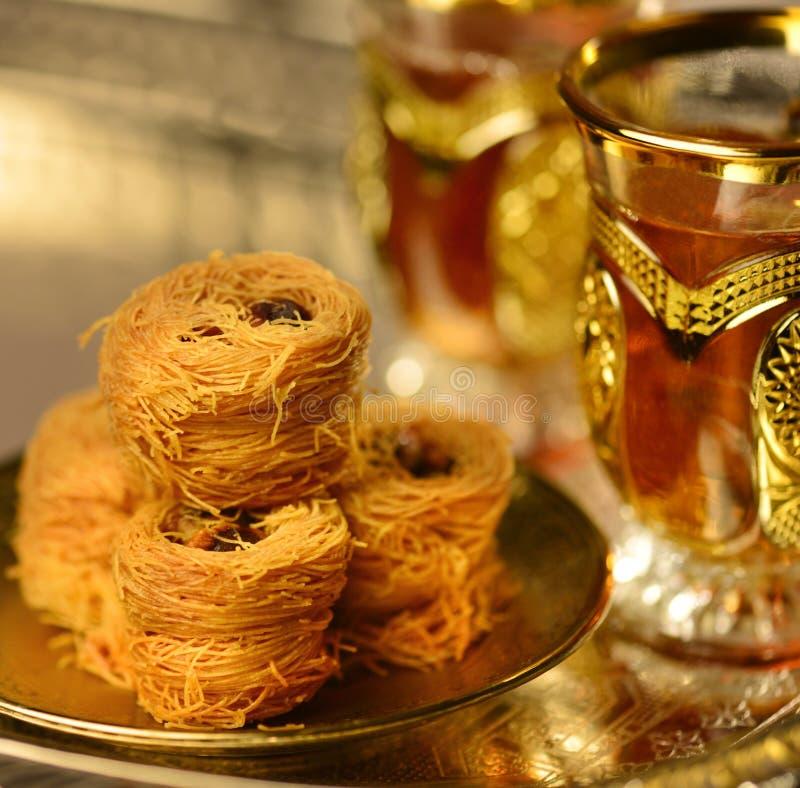 Chá árabe fotografia de stock royalty free