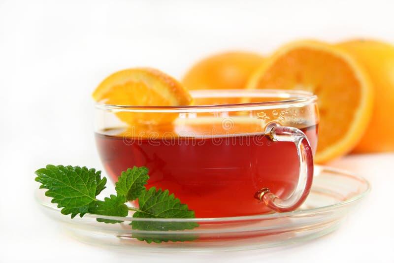 Chá alaranjado imagens de stock royalty free