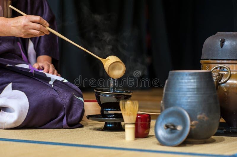 Chá-cerimônia fotos de stock