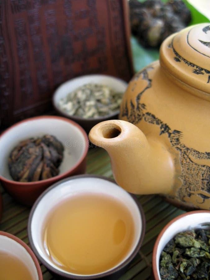 Chá chinês 8 fotos de stock
