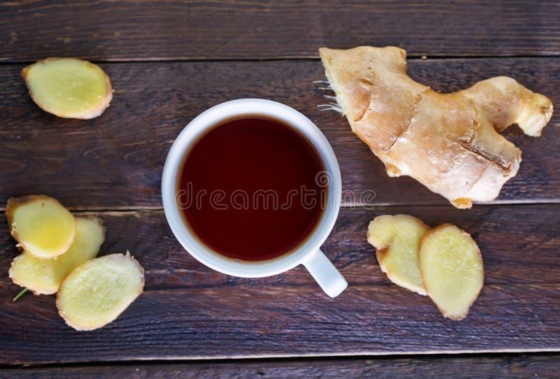 Chá com gengibre fotos de stock