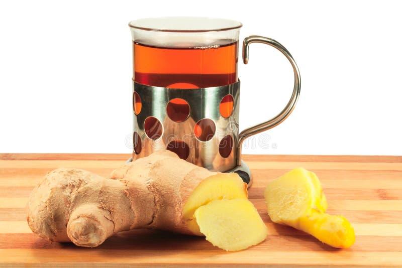 Chá com gengibre fotos de stock royalty free