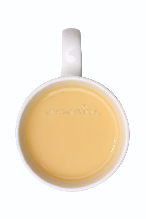 Chá com o leite imagem de stock royalty free