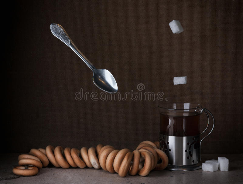 Chá com secadores foto de stock royalty free