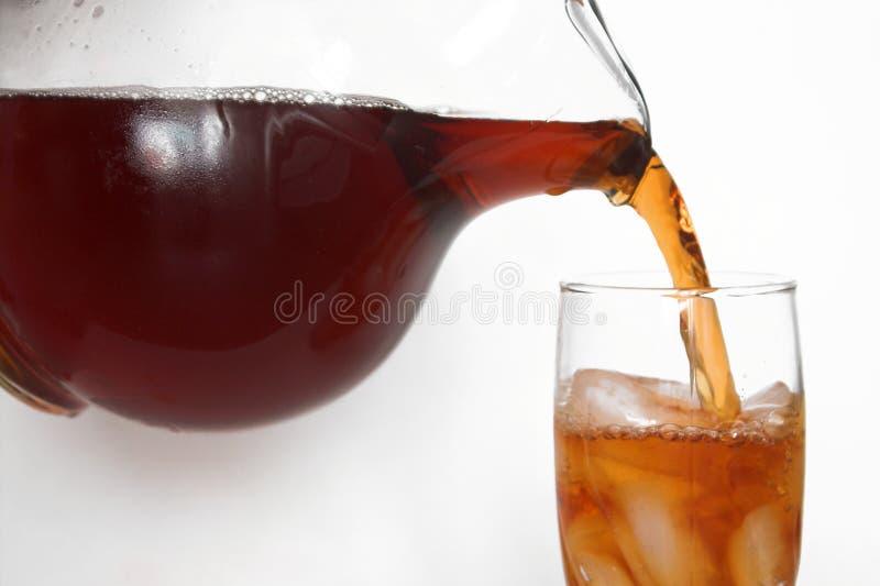Chá congelado fotografia de stock