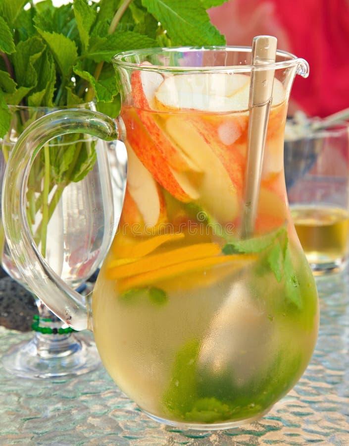 Chá congelado da fruta imagens de stock