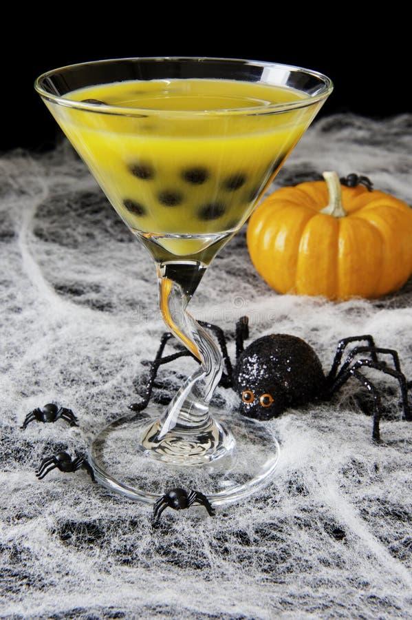 Chá da bolha de Halloween foto de stock