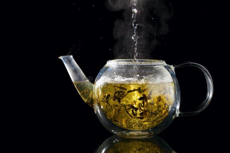 Chá da fabricação de cerveja fotos de stock